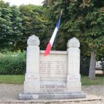 Stèle de LA JEUNE GARDE à Avallon